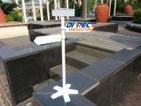 Aluminium Druckguß für Unterseite der Arbeitsweg-Baum-Zeichen