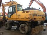 Excavatrice utilisée de roue de Hyundai 210W