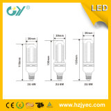 9W 3u 6000k Form des Glas-LED U