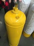Cilindro de gás árabe do acetileno da exportação Cga-300-2