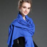 نساء في شتاء أن يحافظ دافئ جلّيّة زرقاء بوليستر وشاح شام