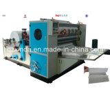 Máquina de dobramento da produção de toalha de mão do tecido de Z