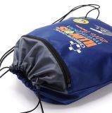 (KL048) 210dナイロンドローストリング袋スクリーンの印刷旅行キャンプ袋のドローストリングのバックパック
