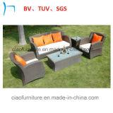Costcoの屋外の家具の庭の家具のPEの藤のソファー