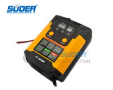 Modalidade de reparo inteligente 12V de Suoer/carregador de bateria automático indicação 2A/4A/6.9A digital de 24V (A02-1224B)