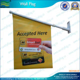 승진 벽 기치 잘 고정된 깃발 (M-NF14P03003)