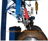 O dobro Torches a máquina de soldadura circunferencial do tanque de armazenamento da emenda