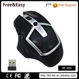 Perfezionare il disegno per il mouse senza fili ergonomico 7D con colore LED