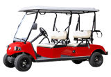 Veículo utilitario do carro de motor da bateria do carro de golfe da CEE com saco de golfe 4seat