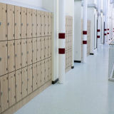 Almacenaje durable del supermercado HPL 18 armarios de la puerta