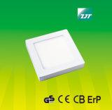 luz de painel fina super do diodo emissor de luz do quadrado 6W com Ce do GS