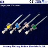 Medizinischer Wegwerf-Cannula IV (Drosselklappen) mit Injektionsöffnung