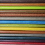 Couro artificial amarrotado alta qualidade do plutônio para sapatas ocasionais clássicas