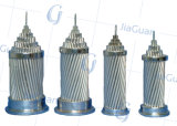 Câble aérien en aluminium de conducteur du fil AAC de noyau en acier de qualité