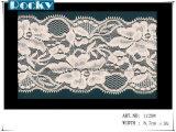 Lycra Spitze-Qualitäts-Spitze-Ordnungs-Breite 16cm