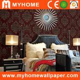 Diseño clásico que realza el papel pintado del PVC