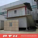 Дом контейнера хорошей конструкции полуфабрикат для временно селитебного живущий проекта