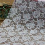 フランスの網のボイルの服装のための花のレースファブリック