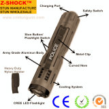 Tactical Stun Gun with Flashlight