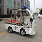 Mini coche eléctrico Rsd-J604y de la ambulancia de 4 asientos