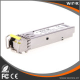 BIDI SFP Optical Transceiver 1000BASE-BX Transceiver Tx 1550nm Rx 40 km 1310nm com função de DDM