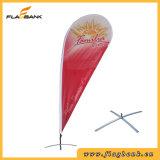 bandeira ao ar livre do Teardrop da impressão de Digitas da fibra de vidro de 3.4m/bandeira do vôo