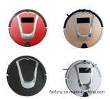 L'aspirateur de robot - champs, nettoie, des lavettes et UV stérilise votre maison, se perfectionne pour des planchers de cheveux, de saleté, de poussière et de bois dur d'animal familier de nettoyage, avec Rechargin automatique