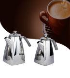 厚いリップを搭載する3つのサイズのステンレス鋼の台形の茶そして編み枝細工の鍋