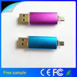 USB 2.0 Disk Flash Drive de Gift Colorful OTG do Natal para Mobile Phone