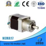 Motor de pasos de la nema 17/42mm*42m m con la caja de engranajes