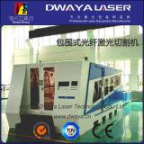 Máquina de corte do laser da fibra da tabela de 6020 trocas