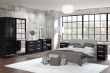 Modern Apartment High Gloss Bedroom Furniture (HF-EY008)