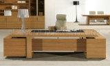 Bureau moderne rectangulaire de directeur de Tableau de meubles de bureau de L-Forme