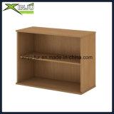 Estante para libros de madera lindo simple de 2 gradas de par en par