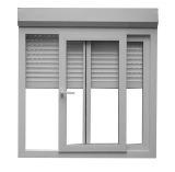 Окно орденской ленты алюминиевого сплава горизонтальное сползая стеклянное