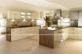 Armadio da cucina americano del MDF Laquer della mobilia della cucina