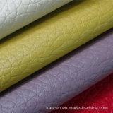 Cuoio resistente dell'unità di elaborazione dell'abrasione multicolore per decorativo (KC-B041)