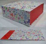 Nuevo rectángulo de regalo de papel plegable de encargo caliente