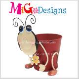 Оптовая продажа плантатора свиньи металла цветочного горшка деталя сада