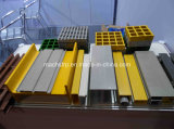 FRP Grating e GRP Pultruded Grating e FRP Pultrusion&Pultrded Profile Steel Bar Grating