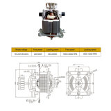 motor del proceso PMDC del alimento de 8000-20000rpm 500-1500W para automotor