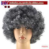 Protezione della parrucca di Afro per la pubblicità dei costumi di carnevale di Halloween del regalo (PS2014)