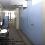 Compartiments phénoliques de toilette de panneau de couleur bleue imperméable à l'eau de Fumeihua