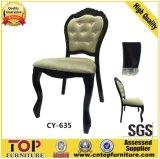 5 Star Hotel Aluminio Blanco Material PU de eventos de cuero de las sillas del banquete de boda