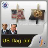 Оптовые дешево напечатанные штыри американского флага