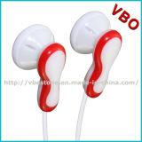Relativo à promoção no fone de ouvido da orelha para a música