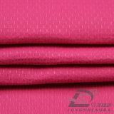 75D 230T Agua y Viento-resistente chaqueta al aire libre Ropa de deporte abajo de bambú tejido Conjunto punteado Jacquard 100% poliéster Pongee Tela (E070)