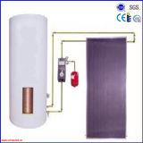 Calefator de água solar ativo separado pressurizado da placa lisa