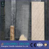 Los paneles de pared interior del final de la fibra de las lanas de madera de la buena calidad