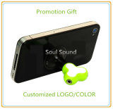 Подарки промотирования для цвета логоса телефона Splitter наушника подгонянного стойкой (ID382)